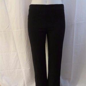 6ca174dfd3e4 Valentino Pants - VALENTINO BLACK CASUAL PANT W SIDE ZIP 6